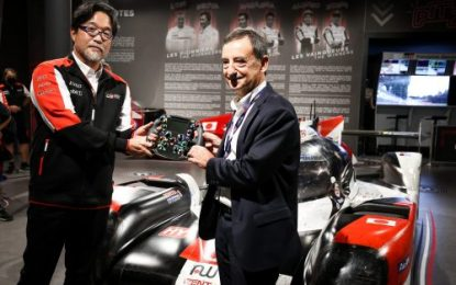 Toyota Gazoo Racing Donates History-making TS050 Hybrid Race Car to Le Mans 24 Hours Museum
