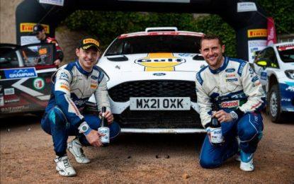 Wilson takes British Rally Championship gold at the Grampian – Irish Shine!