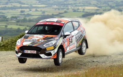 William Creighton heads to Trackrod Rally Yorkshire, aiming to get title hopes back on track