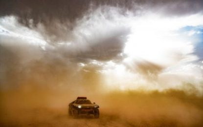 'Brewing up a Storm' Heat & Sand: Morocco test for new Audi RS Q e-tron