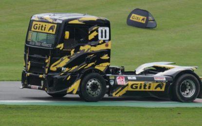 Giti Tire's Martin Gibson dominates BTRC Donington event