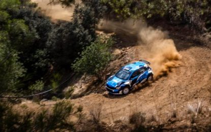 Cyprus Rally 2021 is GO for Omani Rally legend