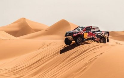 Second consecutive stage victory for TOYOTA GAZOO Racing as Nasser cements his lead in Morocco