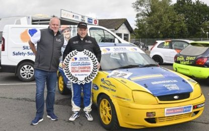 Michael Barrable clinches 2021 Siltex Safety Fiesta Zetec Championship