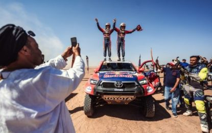 Victory in Morocco for TOYOTA GAZOO Racing as Nasser & Mathieu take historic win