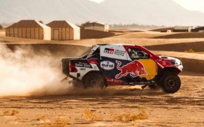 Victory on Morocco's SS1 for TOYOTA GAZOO Racing's Nasser & Mathieu