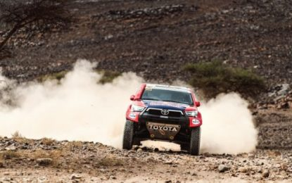 SS3 Morocco Rally win sees Nasser & Mathieu cement their lead for TOYOTA GAZOO Racing