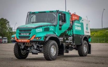 Team De Rooy enter four trucks for Dakar 2022